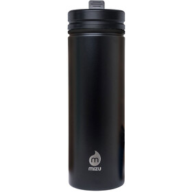 MIZU M9 Bidon with Straw Lid 900ml czarny